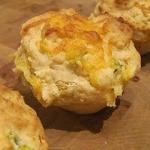 Cheesy Jalapeno Corn Muffins