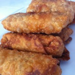 Barbecue Chicken Egg Rolls
