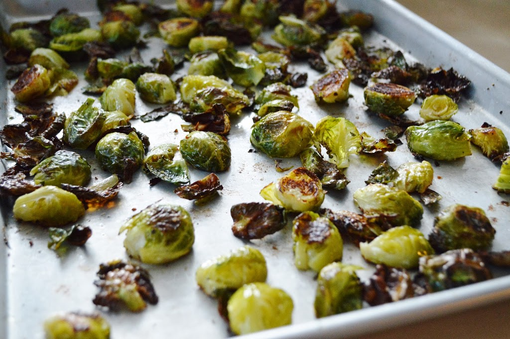 how to clean brussel sprouts from the garden