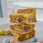 Cadbury Mini Egg Blondies