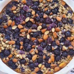 Blueberry and Almond Baked Oatmeal