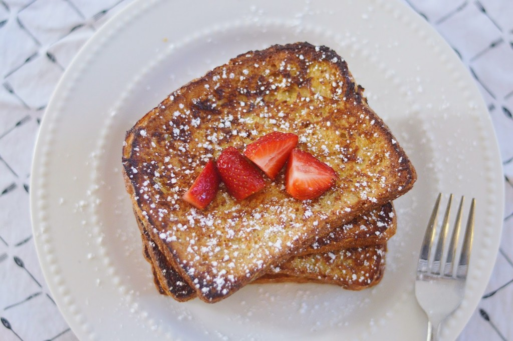 Classic french toast simply clean fit he took it completely upon himself to find a recipe this one happens to be alton browns recipe from the food network site i love that it uses honey as a forumfinder Image collections