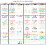 21-Day Fix Meal Plan: June 8, 2015