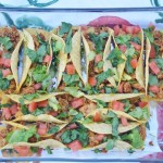 Oven Baked Tacos with Homemade Crispy Taco Shells