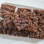 Dark Chocolate Zucchini Brownies
