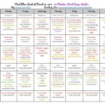 22 Minutes Hard Corps Meal Plan ~ Week 2